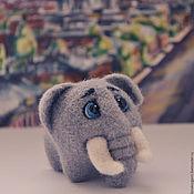 Куклы и игрушки ручной работы. Ярмарка Мастеров - ручная работа Слоны в Питере. Handmade.