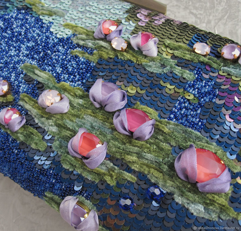 Order Evening Bag Water Lilies Alina Limonova Livemaster