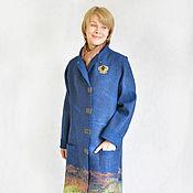 """Одежда ручной работы. Ярмарка Мастеров - ручная работа Пальто длинное  """"Космический вальс"""". Handmade."""