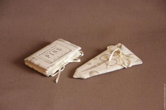 """Органайзеры для сумок ручной работы. Ярмарка Мастеров - ручная работа. Купить Швейный набор """"Ретро"""". Handmade. Бежевый, для женщины"""