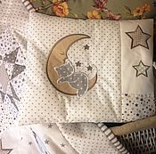Работы для детей, handmade. Livemaster - original item Set for a boy quilt and Pillow. Handmade.