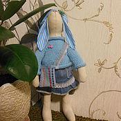 Куклы и игрушки ручной работы. Ярмарка Мастеров - ручная работа Зайка Дина. Handmade.