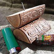 Сувениры и подарки handmade. Livemaster - original item Rune candle holder Libra (runes zodiac sign). Handmade.