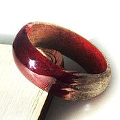 Украшения handmade. Livemaster - original item Cherry wine ring size 18. Handmade.