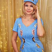 Одежда handmade. Livemaster - original item Author`s dress for Tatiana Morozova. Handmade.