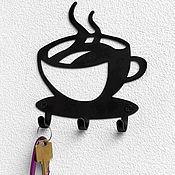 Вешалки и крючки ручной работы. Ярмарка Мастеров - ручная работа Крючок Кофе. Handmade.
