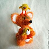Куклы и игрушки ручной работы. Ярмарка Мастеров - ручная работа Лисенок Мартин. Handmade.