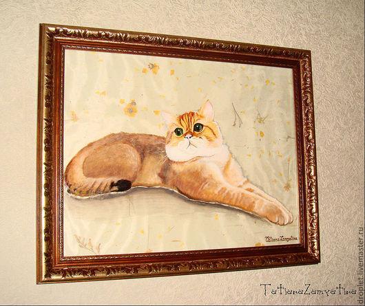 Животные ручной работы. Ярмарка Мастеров - ручная работа. Купить Портрет по Фото (Для примера). Handmade. Портрет, животные, на стекле