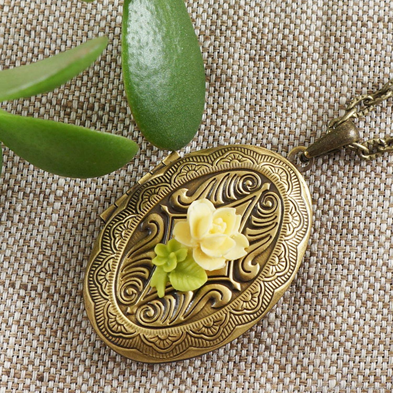 Медальон Чайная Роза bronze, Подвеска, Москва,  Фото №1
