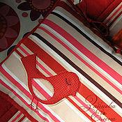 Для дома и интерьера ручной работы. Ярмарка Мастеров - ручная работа детская подушка Моя птичка-невеличка. Handmade.