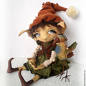 Куклы и игрушки ручной работы. Ярмарка Мастеров - ручная работа С мечтою о весне. Коллекционная кукла. Handmade.