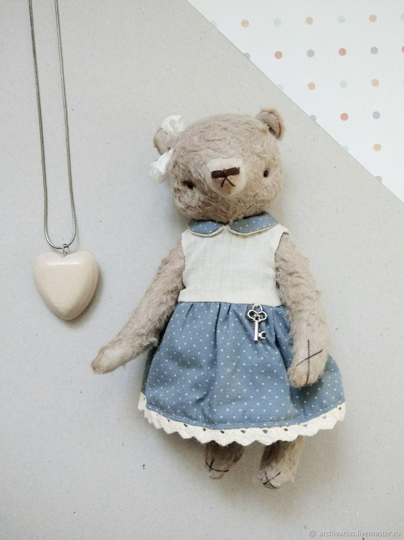 Мишки Тедди ручной работы. Ярмарка Мастеров - ручная работа. Купить Дуня. Handmade. Бежевый, мишка, мишка тедди
