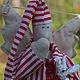 Куклы Тильды ручной работы. Тильда Сплюшка. Ангел-хранитель добрых снов.. Творческая мастерская 'Чердак'. Ярмарка Мастеров.