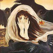 Картины и панно ручной работы. Ярмарка Мастеров - ручная работа Защита черных птиц. Handmade.