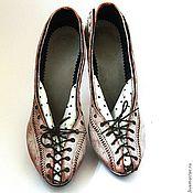 Обувь ручной работы. Ярмарка Мастеров - ручная работа туфли Шабли №2. Handmade.