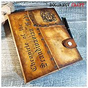 Канцелярские товары handmade. Livemaster - original item Leather notebook