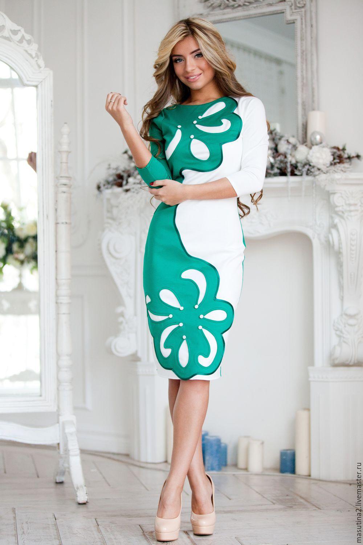 Купить платье зеленое спб