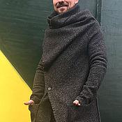 Одежда ручной работы. Ярмарка Мастеров - ручная работа Пальто мужское COAT HERRINGBONE. Handmade.