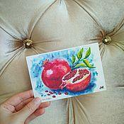 Открытки handmade. Livemaster - original item author`s postcard with grenades for postcrossing. Handmade.