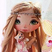 Куклы и игрушки ручной работы. Ярмарка Мастеров - ручная работа Принцесса с питомцем :-). Handmade.