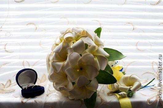 Свадебные цветы ручной работы. Ярмарка Мастеров - ручная работа. Купить букет невесты и сопутствующие аксессуары.. Handmade. Букет невесты