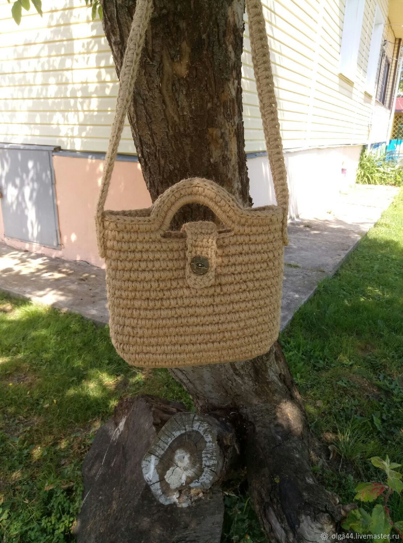 сумка из джута экостиль, Классическая сумка, Кострома,  Фото №1