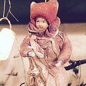 """Куклы и игрушки ручной работы. Ярмарка Мастеров - ручная работа Ватная елочная игрушка """"Малыш"""". Handmade."""