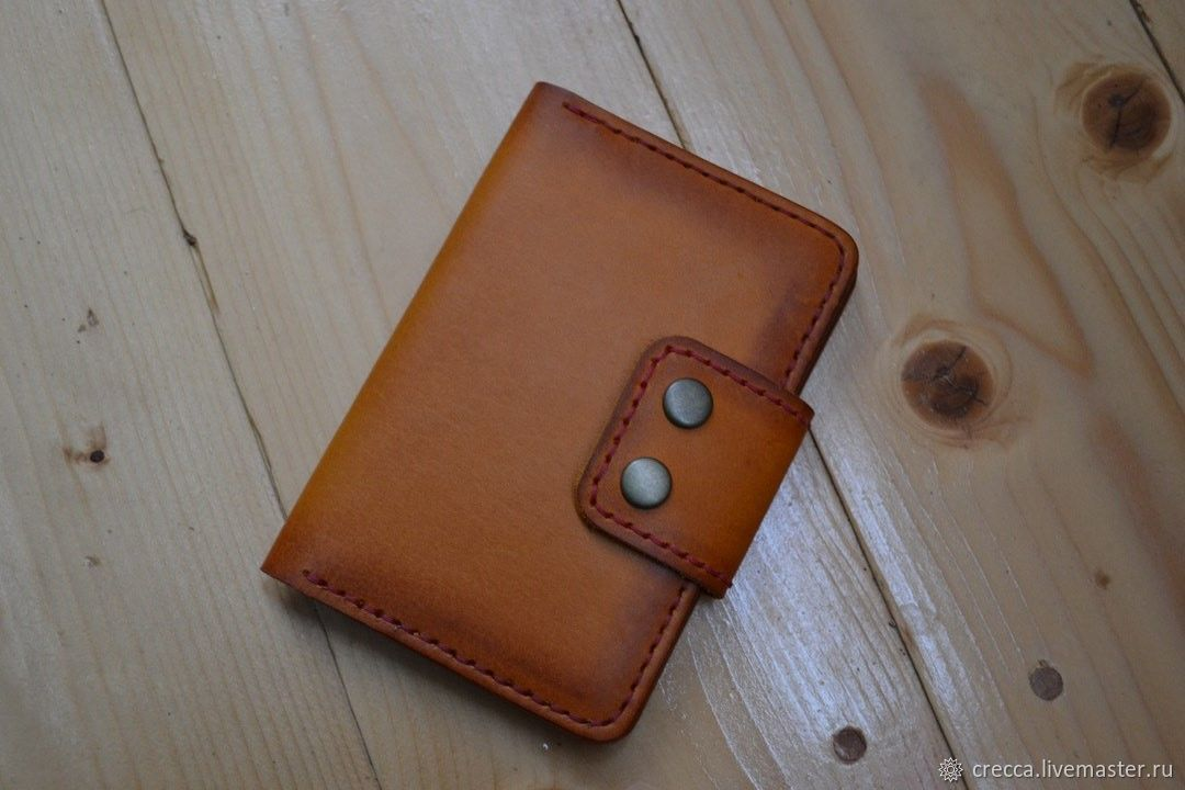 Passport cover leather, Passport cover, Moscow,  Фото №1