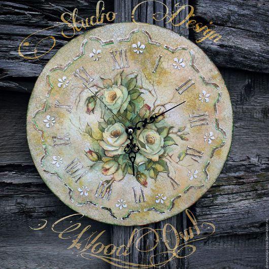 Часы для дома ручной работы. Ярмарка Мастеров - ручная работа. Купить Часы с любым изображением или фото. Handmade.