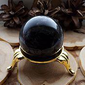 Материалы для творчества handmade. Livemaster - original item The ball of the Morion on the stand. Handmade.