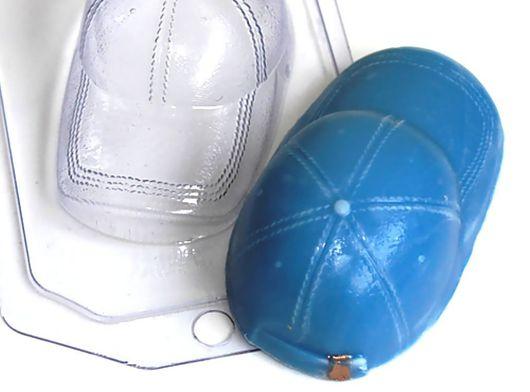 `Бейсболка` форма для мыла пластиковая