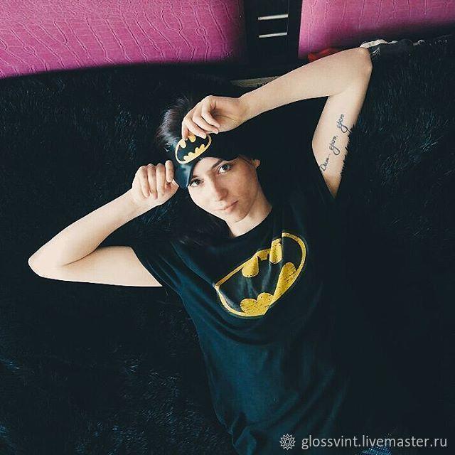 b20e320c993 Online shopping on Underwear   Pajamas handmade. Order Sleep mask  Batman .  glossvint. Livemaster.