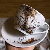 Посуда ручной работы. Ярмарка Мастеров - ручная работа Лошадка из Ежика в тумане. Handmade.