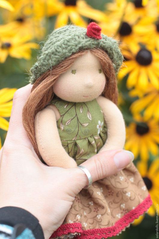 Уна 15  см Вальдорфские куклы.Julia Solarrain (SolarDolls) Ярмарка Мастеров