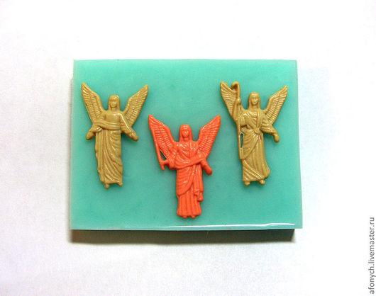 """Для украшений ручной работы. Ярмарка Мастеров - ручная работа. Купить Форма, молд """"Три архангела"""" (арт.: 178). Handmade."""