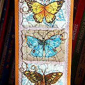 Открытки ручной работы. Ярмарка Мастеров - ручная работа Открытка Дыхание бабочек. Handmade.