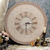 Для дома и интерьера ручной работы. Ярмарка Мастеров - ручная работа часы настенные Новель. Handmade.