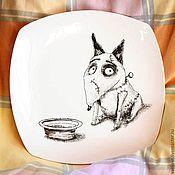 Посуда ручной работы. Ярмарка Мастеров - ручная работа Пес Спарки. Handmade.