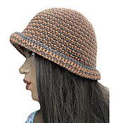 Аксессуары handmade. Livemaster - original item Panama women`s knitted Mirinda. Handmade.