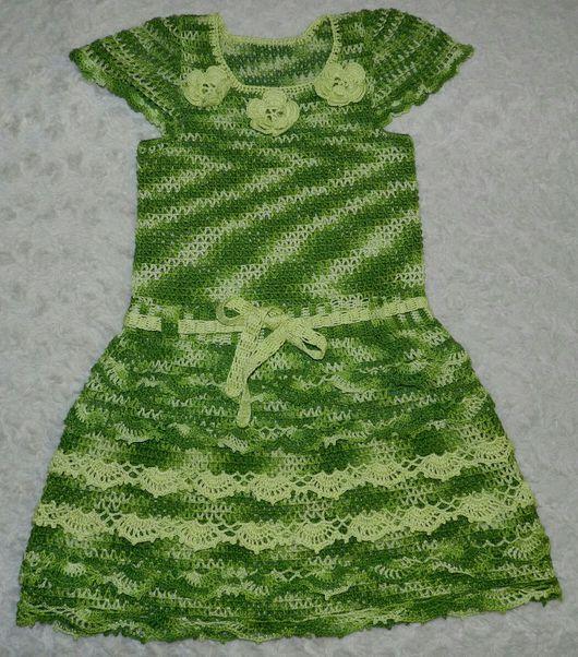 """Одежда для девочек, ручной работы. Ярмарка Мастеров - ручная работа. Купить Платье """"  Улыбочка"""". Handmade. Авторская работа"""