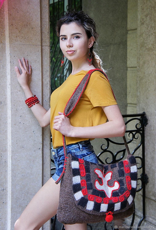 Сумки: В национальном стиле, Классическая сумка, Алматы,  Фото №1