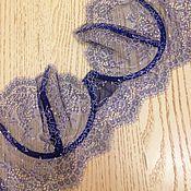 Одежда ручной работы. Ярмарка Мастеров - ручная работа Синие цветы. Handmade.