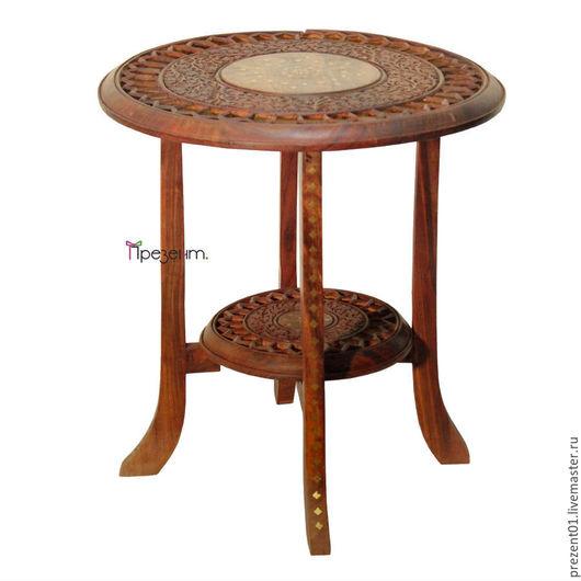 Мебель ручной работы. Ярмарка Мастеров - ручная работа. Купить Столик из дерева, арт. 4026. Handmade. Коричневый, мебель из массива