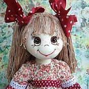 Куклы и игрушки ручной работы. Ярмарка Мастеров - ручная работа Катюша (25 см сидя). Handmade.