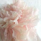 "Цветы и флористика handmade. Livemaster - original item Цветы из ткани. Цветы из шелка. Роза ""Летиция"". Handmade."