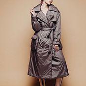 Одежда handmade. Livemaster - original item Trench coat insulated Luck. Handmade.