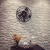 "Часы ручной работы. Ярмарка Мастеров - ручная работа Часы 45см ""Bindweed"". Handmade."