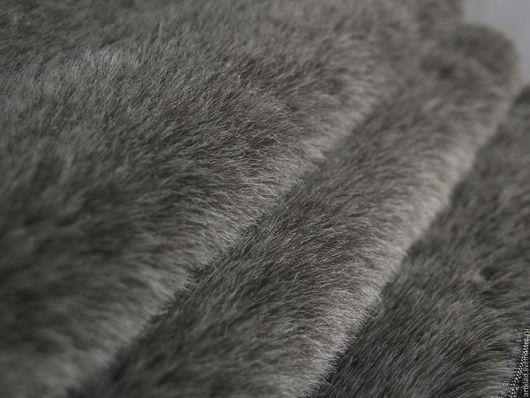 Куклы и игрушки ручной работы. Ярмарка Мастеров - ручная работа. Купить Мохер плюш Черное серебро 20 мм (Германия Schulte). Handmade.