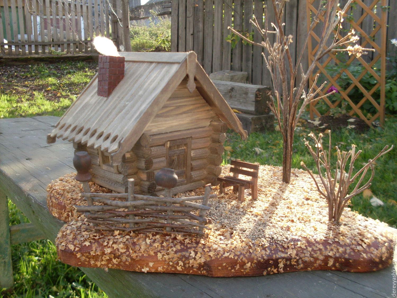 Поделки для сада домовой