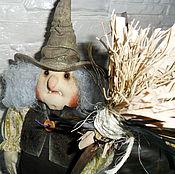 Куклы и игрушки ручной работы. Ярмарка Мастеров - ручная работа Кукла. Ведьмочка. Handmade.